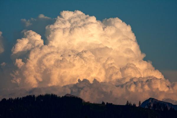 Wolke am frühen Abend 1