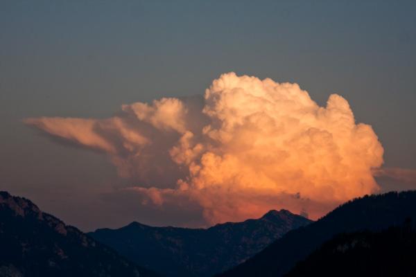 Wolke am frühen Abend 2
